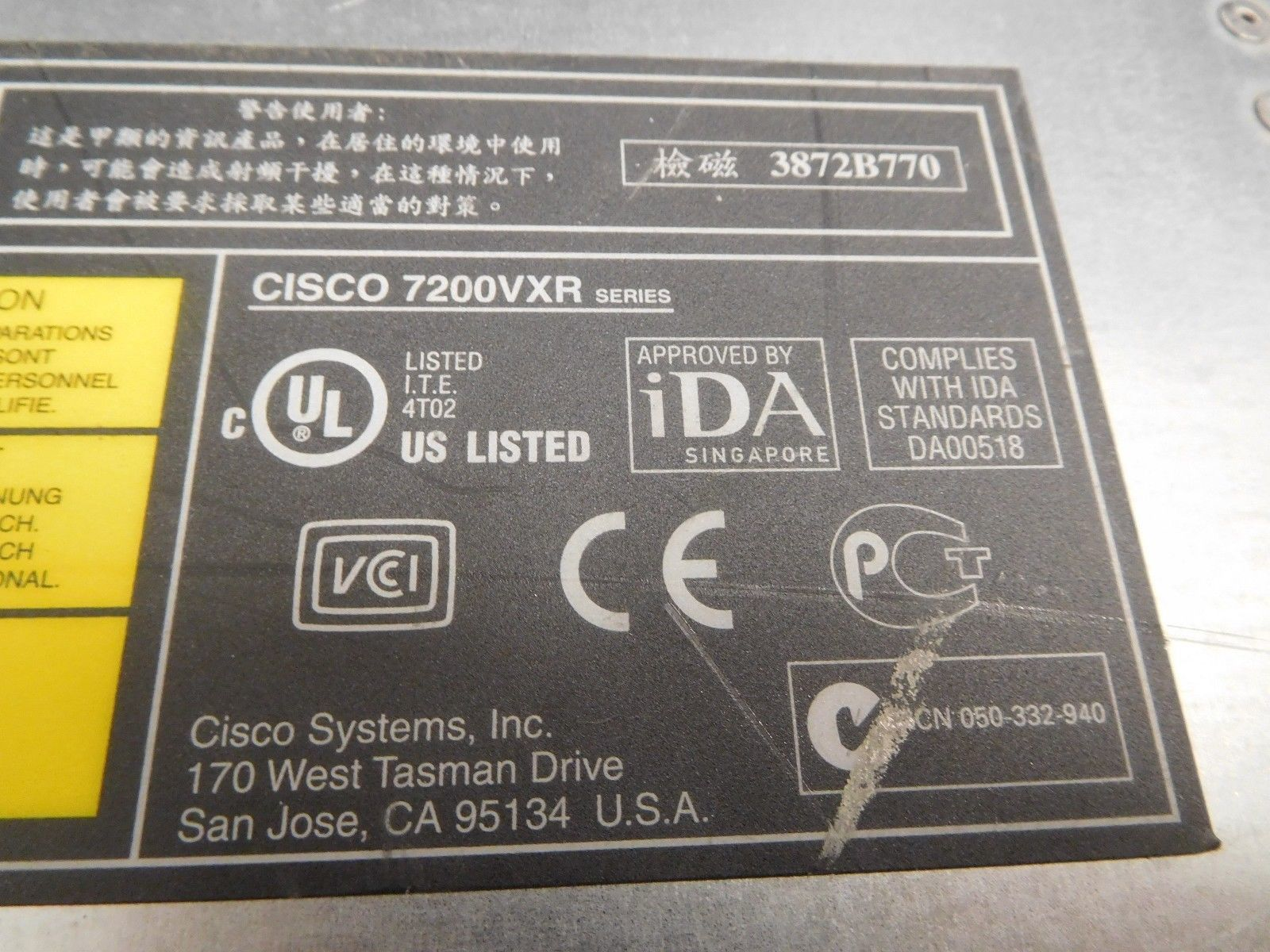 Cisco 7200 VXR 7206VXR Router w/ NPE-400 and 19 similar items