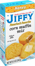 """4 Boxes of """"Jiffy"""" Honey Corn Bread Muffin Baking Mix *~ FREE EXPD SHIPPING ! ~* - $12.75"""
