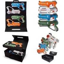 Dynasty Toys Laser Tag Set Toys And Carrying Case For Kids Multiplayer 4... - $74.74