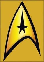 Star Trek: The Original Series Command Insignia Magnet, NEW UNUSED - $3.95