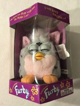1998 Electronic Furby Grey/Pink/Black 70-800 New In Box Tiger Electronics - $37.04