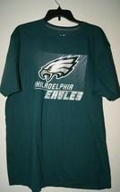 Nfl Team Apparel Philadelphia Eagles Men's T Shirt Ringspun Soft - Green Sz Xl - $18.86