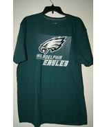 NFL TEAM Apparel Philadelphia EAGLES Men's TShirt Ringspun Soft - Green ... - $18.86