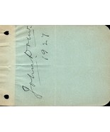 JOHN DREW (JR) Autograph. Nicely signed on album page. Barrymore uncle. - $16.83