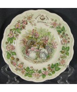 Royal Doulton Brambly Hedge Summer Salad Plate Jill Barklem Bone China E... - $37.97