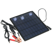 18V 5.5W Portable Solar Panel Power Battery Charger for Car Boat Motorbi... - €29,06 EUR