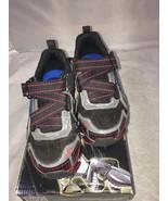 Skechers Kids Mega Blade 2.0 Chrome Z Sneaker (Little Kid),Charcoal/Red,... - $34.65