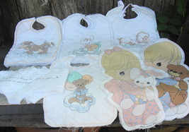 Precious Moments Quilted Bibs and Panel Dolls - $18.00