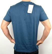 Lacoste Men's Premium Athletic Pima Cotton V-Neck Shirt T-Shirt Typhoon Sz M image 4