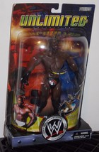 2003 WWE Unlimited Booker T Wrestling Figure New In The Package - $49.99