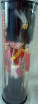 Vintage Souvenir Plastic Scottish Guard With Flag Doll In Case - $5.99