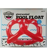 Big Mouth Inflatable Pretzel Swimming Pool Float Tube Lounge - Red - $19.79
