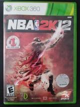 NBA 2K12 (Microsoft Xbox 360, 2011) Complete - $3.99