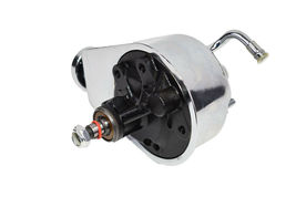 A-TEAM PERFORMANCE SAGINAW POWER STEERING PUMP FOR CHEVROLET GMC BUICK CHROME image 7