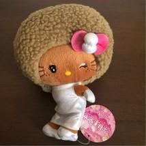 Hello Kitty x Yajima Beauty Salon Plush Doll Afro Very Rare Sanrio 2010 JP F/S - $180.31