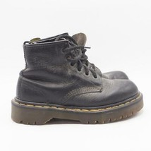 Doc Dr.Martens Black Oiled Leather Ankle Boots Womens Sz 5 US 2.5 UK 35 EU - $64.34