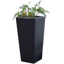 Tall Wicker Planter Indoor Outdoor Garden Stylish Standing Flower Plants... - ₹5,685.46 INR