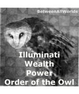 Illuminati Immense Riches Wealth Spell Order Of The Owl Betweenallworlds... - $157.35