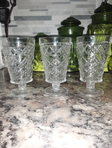VTG Fostoria Water Goblets  - $40.00