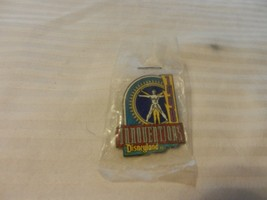 Disney Innoventions 1998 Pin Back with DaVinci's Man Logo - $14.85