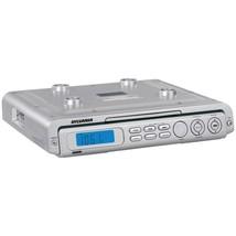 SYLVANIA(R) SKCR2613-SILVER Under-Cabinet CD Clock Radio - $62.73