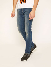Armani Exchange A|X J13 SLIM-FIT DESTROYED AND WASHED INDIGO JEANS, 36R,... - $64.34