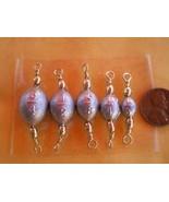 JumpingBolt 75 PCS. Brass Swivel Egg SINKERS 3/4,1/2,3/8,1/4,1/8 OZ. 15 ... - $63.42