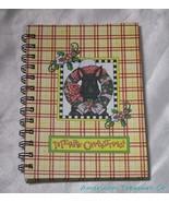 Mary Engelbreit Merry Christmas Scottie Terrier Dog Spiral Journal or Di... - $17.36