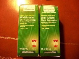 2 Boxes Wal-Tussin Adult Chest Congestion Expec... - $14.49