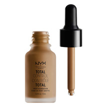 NYX Total Control Drop Foundation TCDF18 Deep Sable - $11.87