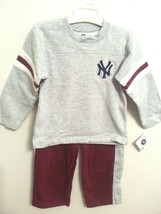 New York Yankees Child Kids Sizes Sweatshirt and Sweatpants 2PC Set SZ 4 or 5 - $14.95