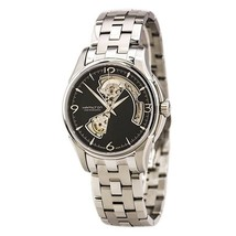 Hamilton Jazzmaster Open Heart Automatic Black Dial Men's Watch #H32565135 - $902.13