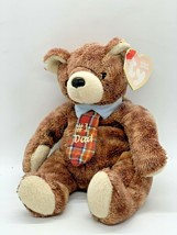 Ty #1 Dad Beanie Babies Originals Plush Pappa Bear 2004 Stuffed Animal Toy - $8.50