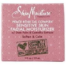 Shea Moisture Peace Rose Oil Sensitive Skin Facial Moisturizer - $23.61