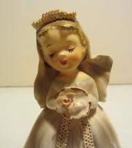 Vintage Lefton bride figurine 1957 - $21.80