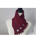 Fisherman knit neck warmers, cabled neck warmers, extra soft bulky merino in dar - $39.00