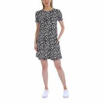 NWT ELLEN TRACY Ladies' Pima Cotton Dress Size Medium Black - $14.84