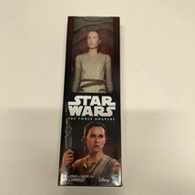 STAR WARS THE FORCE AWAKENS REY (JAKKU) ACTION FIGURE 12 INCH  NEW - $14.83