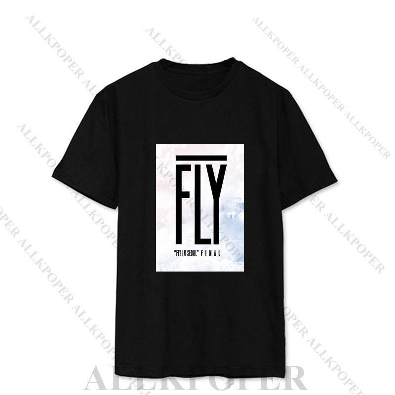 Kpop GOT7 Tops [FLIGHT LOG:TURBULENCE] Unisex T-shirt Tee Bambam Youngjae Fly