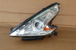 09-17 Nissan 370Z Z34 Xenon HID Headlight Lamp Driver Left LH - POLISHED image 1
