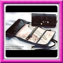 VICTORIA'S SECRET FOREVER ANGEL LUXE JEWELRY ROLL TRAVEL CASE BAG GIFT B... - $18.80