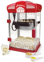 Popcorn Machine Popper Movie Theater Style Hot Oil 4-Ounce Red Movies Co... - $100.00