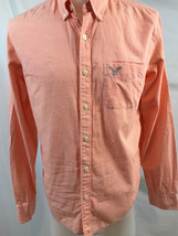 American Eagle Outfitters Rose à Carreaux Manches Longues Chemise Bouton... - $376,93 MXN