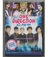 One Direction All for One DVD Limited Edition 2012 Harry Styles, Niall H... - $22.53