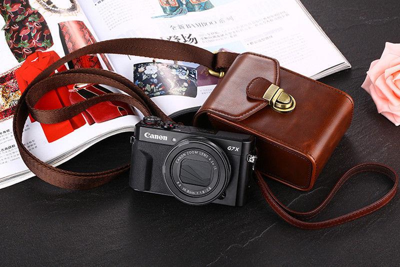 PU Camera Bag Leather Case Canon IXUS 285 265 245 240 230 220 190 185 182 180