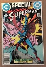 Superman Special #1 DC Comic Book 1983 NM Condition ULTIMATE MAN - $4.49