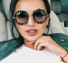 Goggles Round Women Retro Sunglasses Luxury Lady Sunshades 2018 Fashion UV400 - $9.38+