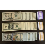 22.000 PROP MONEY REPLICA 100s 20s 100New Style All full Print For movie... - $63.99