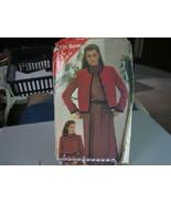 Butterick See & Sew 3834 Jacket & Dress Pattern - Size 14/16/18 Bust 36-40  - $7.91