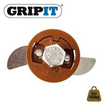 BROWN GRIP IT PLASTERBOARD FIXINGS & SCREWS HOLLOW CAVITY WALL GRIPIT 20... - $3.42+
